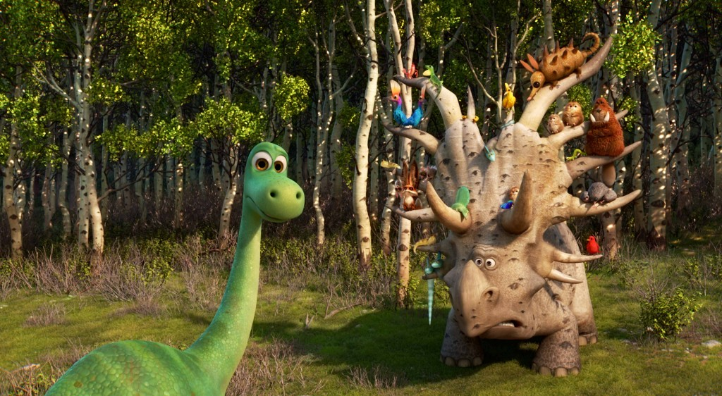 "Peter Sohn also happens to be a talented voice actor and has been featured in a few Pixar films. In ""The Good Dinosaur"" he plays a character known as the Pet Collector. (Courtesy of Disney/Pixar)"