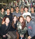 Korean Catholic young adults from Fortes in Fide volunteered at St. Vincent de Paul Thrift Store in downtown L.A. on Saturday morning. The sales from SVdP's two area thrift stores pay for programs that help homeless and low-income people. (Courtesy of St. Vincent de Paul of Los Angeles / Kay Hwangbo)