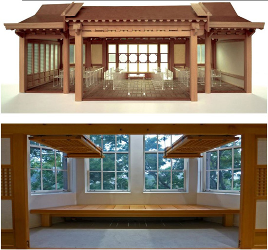 The Korean Heritage Room inside the University of Pittsburgh's Cathedral of Learning