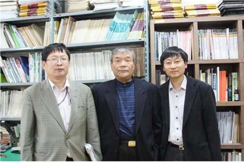 Left to right: Im In-taek, Kim Jae-yool, Joo Kyung-kwang (Photo courtesy of Chonnam National University)