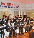 The New York-based Nanum Band performed inside Daedong Manor for its two-year anniversary Saturday.