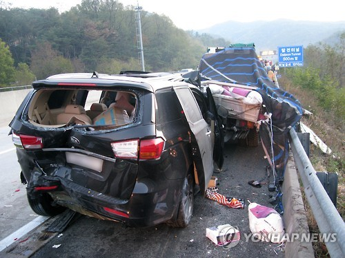 Real Men Staff Comedian Involved In Five Car Expressway Crash