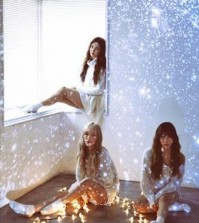 An image promoting Girls' Generation-TTS' upcoming Christmas album. (Photo courtesy of S.M. Entertainment) (Yonhap)