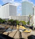 The Wilshire and Hobart site (Park Sang-hyuk/Korea Times)