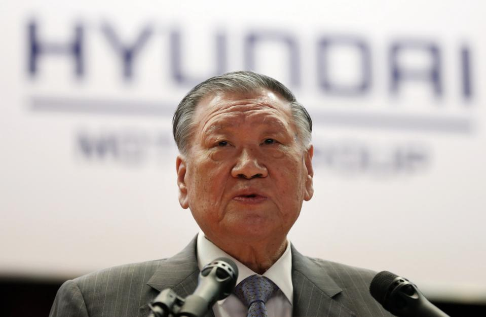 Hyundai Motor Group Chairman Chung Mong-koo (Yonhap