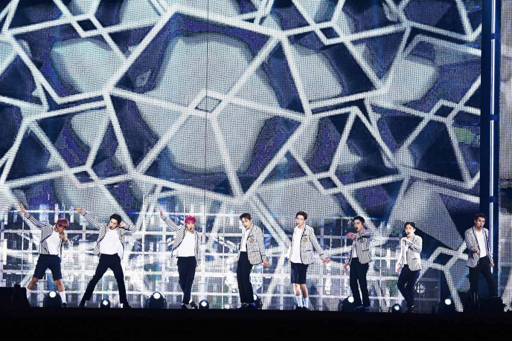 South Korean boy band EXO (Photo SM Entertainment/Yonhap)