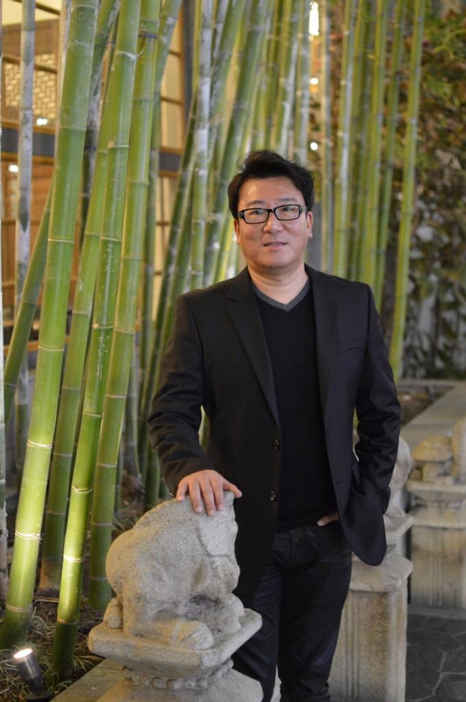 Director JK Yoon (Tae Hong/Korea Times)