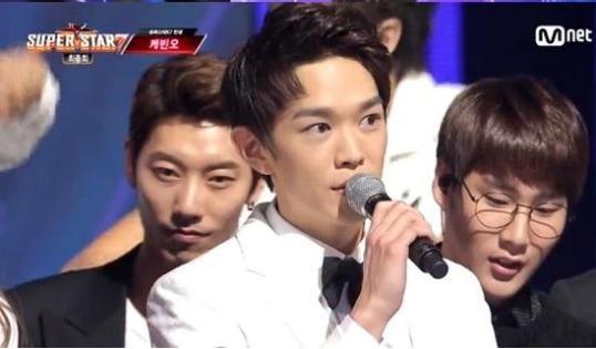 "Kevin Oh wins ""Superstar K7"" (Screen capture)"