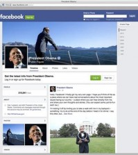 "The screen image from Facebook.com shows the Facebook page of President Barack Obama. Obama wants you to like him. And comment on him. And share his posts, too. The president now has his own personal Facebook page. ""President Obama, public figure"" went live Monday, Nov. 9, 2015. (Facebook.com via AP)"
