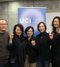 Leaders of the newly formed UC Irvine Korean American Alumni Chapter