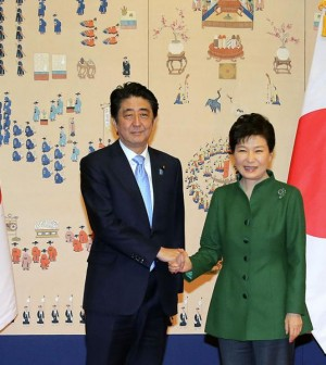 Park, Abe agree to speed up talks to resolve issue of former sex slaves – The Korea Times