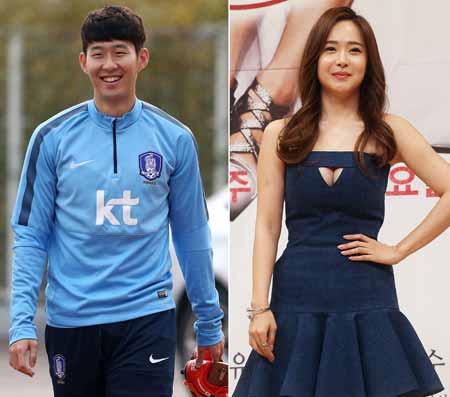 Son Heung-min, Yoo So-young (Yonhap)