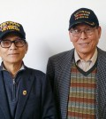 Vietnam Veterans Association Korea New Jersey chapter President Kim Chun-soo and Vice President Cho Soo-hoon