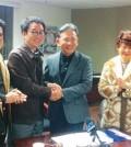 Leaders of the Los Angeles Korean Festival Foundation