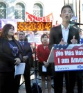 Local immigration groups are pushing for Obama's executive order, introduced last year in November, which would expand DACA and implement DAPA, as it faces opposition from 26 states. (Park Sang-hyuk/Korea Times)