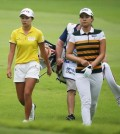Hyo Joo Kim, left, and Chun In Gee.  (Courtesy of KLPGA)