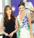 Miranda Kerr, Yoon Eun-hye