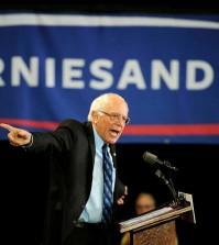 Democratic presidential candidate Bernie Sanders speaks Saturday, Nov. 7, 2015, at the University of South Carolina Aiken, S.C. (Chris Thelen/The Augusta Chronicle via AP)