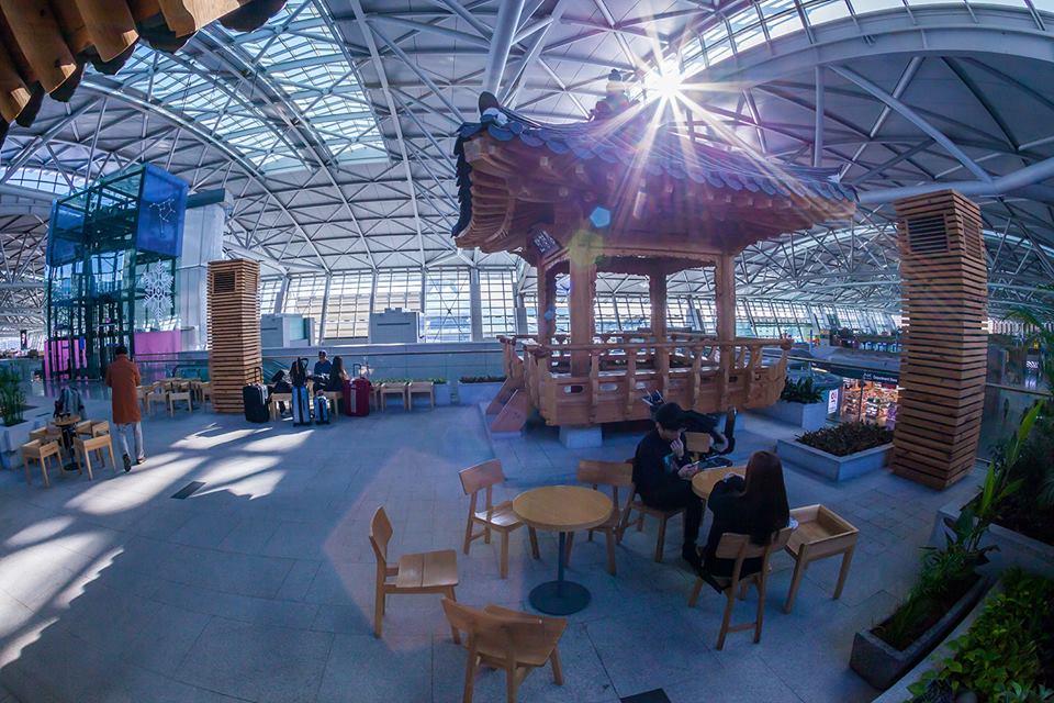 Incheon Airport (Facebook)