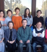 Members of the Korean American community fine arts association in Orange County