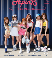 Pink MEMORY: Apink North America Tour 2015 (KpopMe)