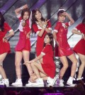 South Korean K-Pop girl group Apink performs during Hallyu Dream Concert in Gyeongju, South Korea Oct. 6, 2013. (Photo: Ahn Young-joon, AP)