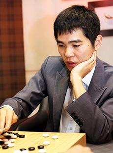 Baduk player Lee Se-dol (Korea Times file)