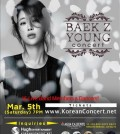 (Baek Z Young concert poster)
