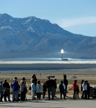Patrons line up to buy Powerball lottery tickets outside the Primm Valley Casino Resorts Lotto Store just inside the California border Tuesday, Jan. 12, 2016, near Primm, Nev. The Powerball jackpot has grown to over $1 billion dollars for the next drawing on Wednesday. (AP Photo/John Locher)