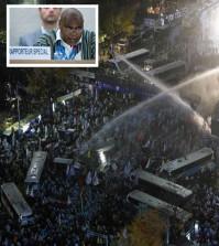 protest, UN