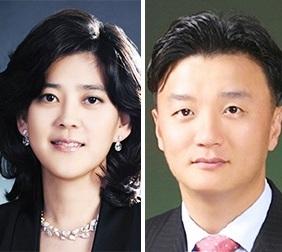 Lee Boo-jin, left, and  Im Woo-jae