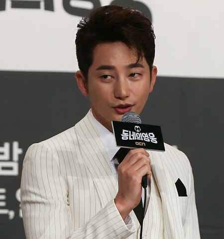 Actor Park Si-hoo (Yonhap)