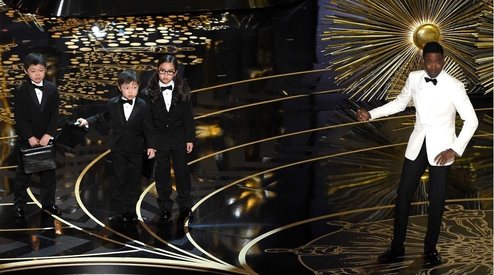 Oscars host steals the show with attack on Hollywood