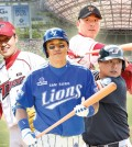 rom left are Yoon Suk-min of the Kia Tigers; Lee Seung-youp of the Samsung Lions; Jung Woo-ram of the Hanwha Eagles; and Kim Tae-kyun of the Hanwha Eagles. (Graphic by Cho Sang-won)