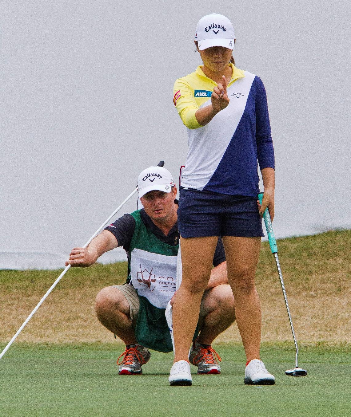 Ko, Jang share lead after a long day on LPGA Tour