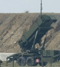 Patriot suface-to-air missile (SAM) launcher. (Yonhap, file)
