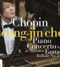 The new album containing pianist Cho Seong-jin's award-winning performance at last year's Chopin Competition has sold out before its official release, the album's distributor said Monday.