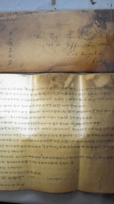 For more than a decade, 15,000 to 16,000 pages of documents that chronicle the very early years of Korean immigration to California have been in limbo. (Kenneth Klein / USC East Asian Library)