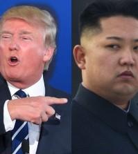 Trump, Kim Jong-un