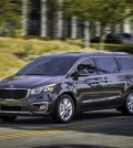 his photo provided by Kia shows the 2016 Sedona SX Limited. The 2016 Kia Sedona, with the best warranty coverage of any minivan and an award-winning, inviting interior, is a must-see vehicle for shoppers looking for a spacious, comfortable, family ride. (Bruce Benedict/Kia via AP)