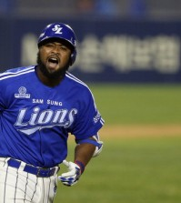 Yamaico Navarro played for the Samsung Lions for the past two years. (Yonhap faile)