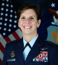 This undated photo provided by the U.S. Air Force shows Gen. Lori J. Robinson, Commander, currently the head of the Pacific Air Force. Defense Secretary Ash Carter says President Barack Obama will nominate the first woman to head a major U.S. military combatant command. If confirmed by the Senate, Robinson would be the seventh commander to head the Colorado-based U.S. Northern Command. (U.S. Air Force)