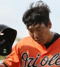 Kim Hyun-soo is still looking for his first hit in America. (Yonhap)