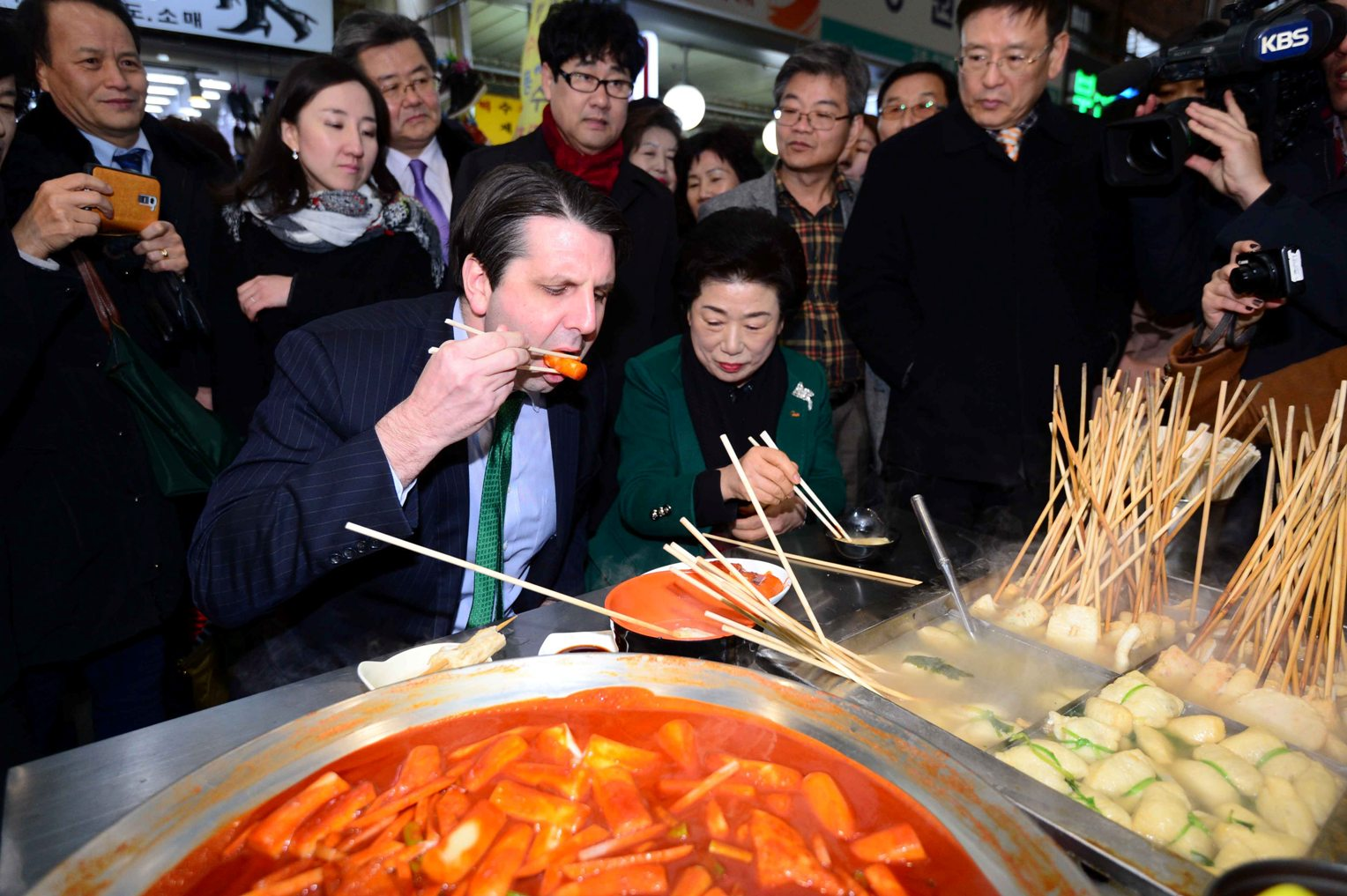 Foreigners Visiting S Korea Most Interested In Street Food