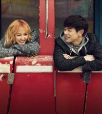 Wendy of Red Velvet (left) and television persona Eric Nam (Photo courtesy of S.M. Entertainment)