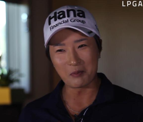 Se Ri Pak talks about her retirement. (LPGA.com retirement interview video screen capture)