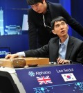 Lee Se-dol just cannot solve Google's AlphaGo. (Yonhap)