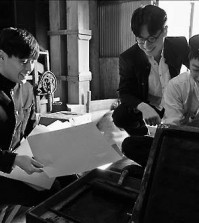 """A scene from the Korean film, """"Dongju: The Portrait of A Poet."""" (Yonhap)"""