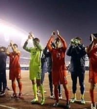 South Korean national team soccer team players will be looking to rewrite history against Thailand. (Yonhap)