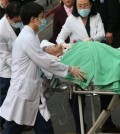 Ha Sang-sook, a former comfort woman living in China, is hospitalized at Chung-Ang University Hospital in Seoul on April 10, 2016, for treatment. Ha's life attests to the hardships suffered by the comfort women who were mobilized as sex slaves for Japanese soldiers during World War II. Ha, now 88, was told that she would be able to make a lot of money when she was coaxed to China and forced into sexual slavery at the age of 17. She suffered serious injuries from a fall down the stairs and was flown into Seoul for treatment. (Yonhap)